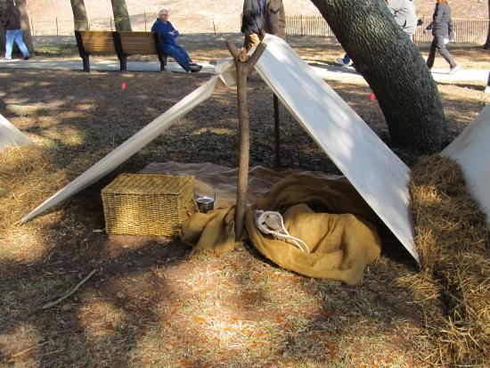 Fort Fisher State Historic Site: Sleeping on the Hard Groud