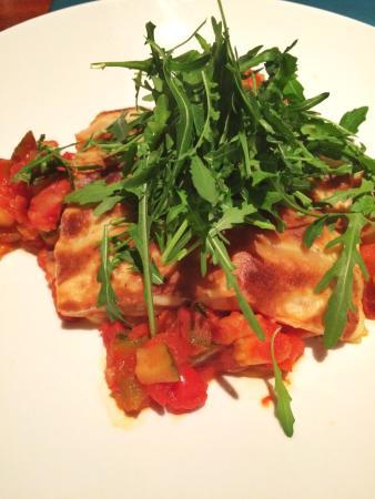 Amrath Hotel Brabant : Lasagne van kaas en groenten, heerlijk