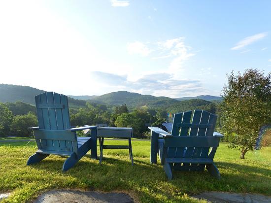 Taftsville, VT: Adirondack Chairs