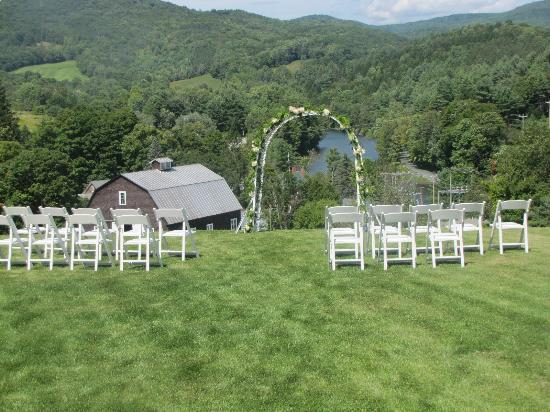 Taftsville, VT: Ceremony Site