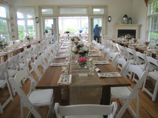 Taftsville, Βερμόντ: Inn Dining