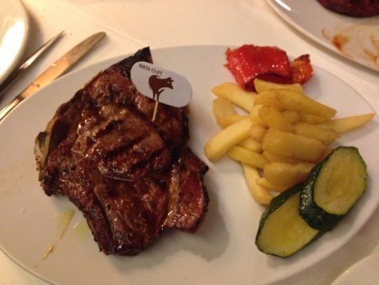 Restaurant Els Cacadors : Entrecot