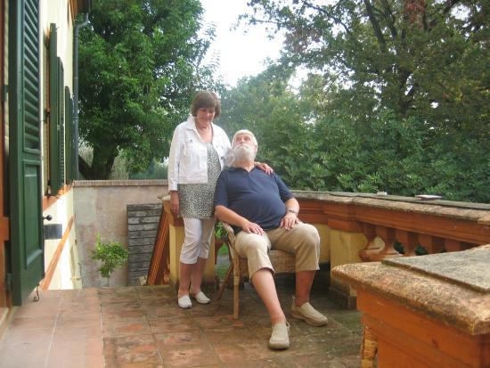 Bed & Breakfast Villa Anita : Der sekundäre Eingang, nicht weniger stilvoll