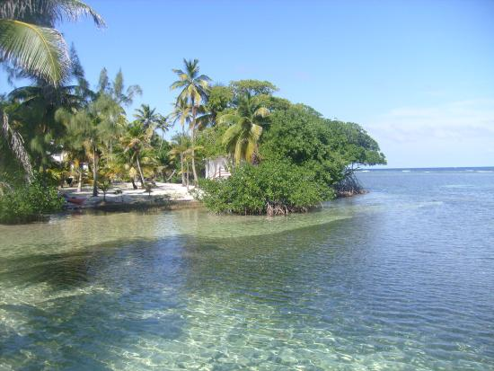 Pelican Beach - South Water Caye: l île