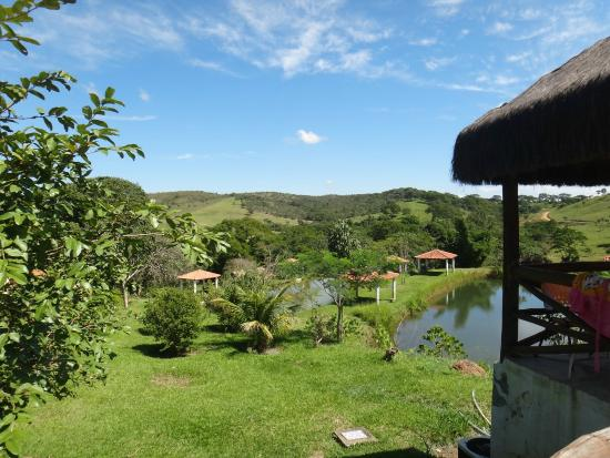 Vila Velluti: Vista da piscina