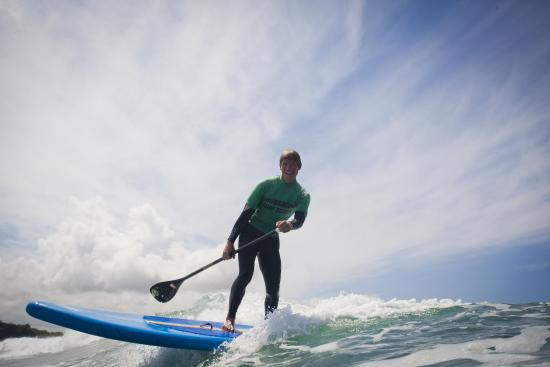 Polzeath, UK: Rule the Waves on a paddleboard