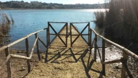 Pergusa, Italy: Il pontile