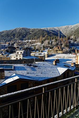 Hotel Del Pui : Vue depuis le balcon