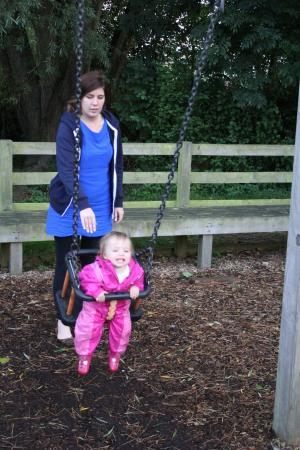 Ulwell Cottage Caravan Park : The play area