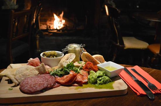 The Lion at Buckden : Sit by the fire & enjoy one of our chef's delights