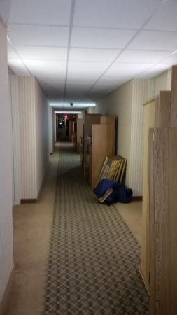 Travelodge Lincoln: hallways