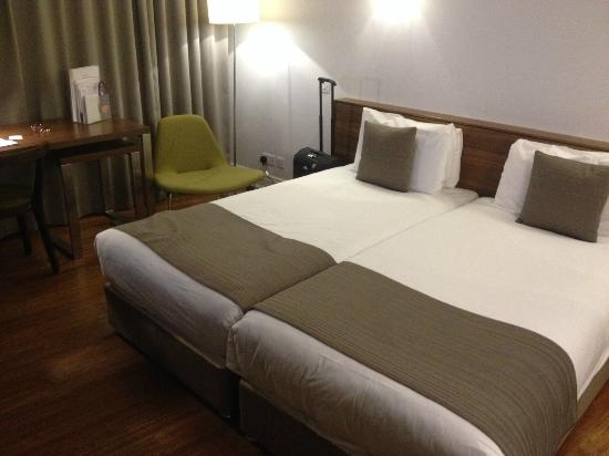 Citadines South Kensington : letto