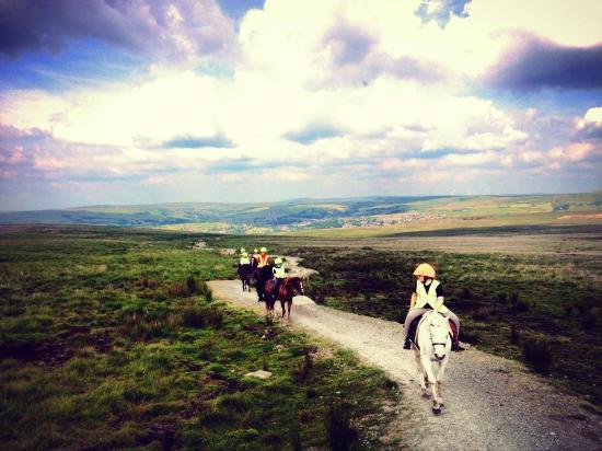 Breathtaking riding across the Rossendale Valley