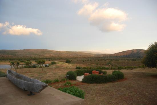 Ufumene Game Lodge: View from Lodge