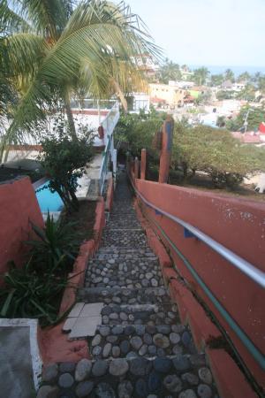 Hotel Las Graditas: escaleras 112