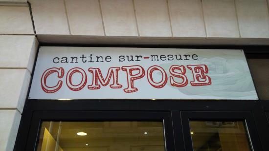 Photo of Restaurant Compose at 24 Rue De Bellechasse, Paris 75007, France