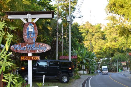 Hotel Mono Azul: Front