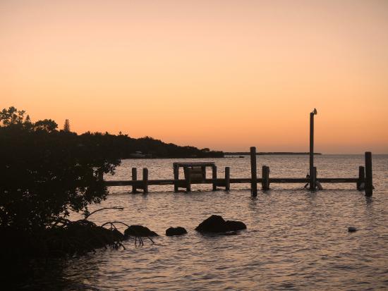 Lookout Lodge Resort: panorama dalla spiaggia
