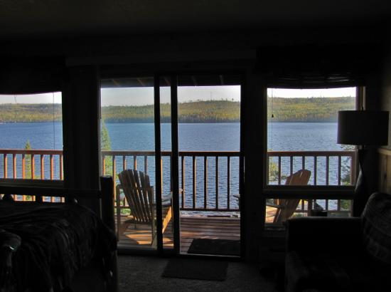Cross River Lodge : View from Angler in the lodge.