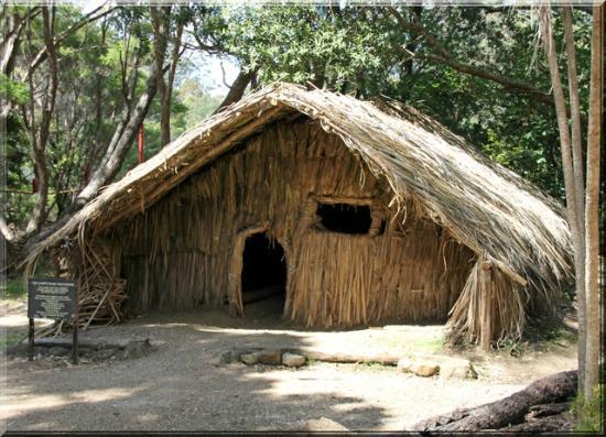Rewa's Village: hier wohnt der Häuptling mit seiner Familie