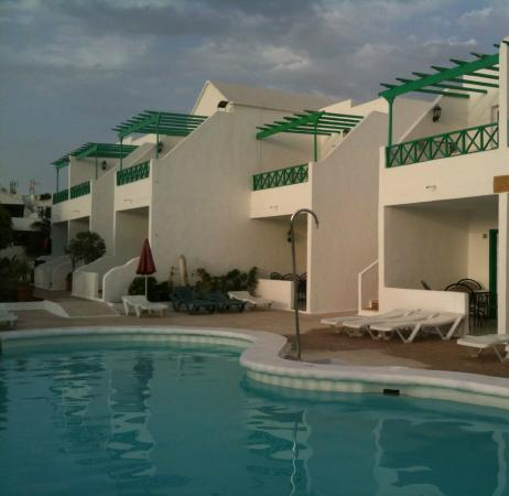Hotel Lanza Teneguia : From pool