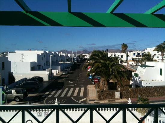 Hotel Lanza Teneguia : from balcony