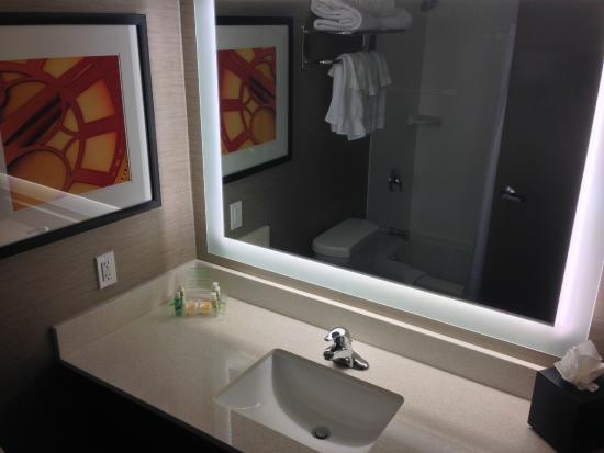 Holiday Inn Milwaukee Riverfront: Modern Bathroom