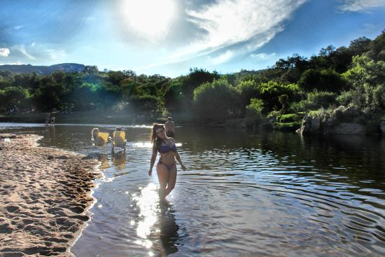 Cuesta Blanca, Argentina: Playa de los Hippies