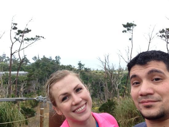 Forest Adventure in Onna : top of platform