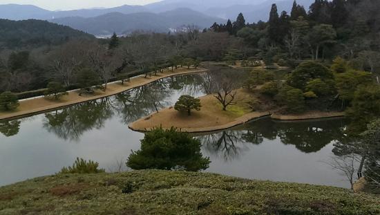 Shugakuin Imperial Villa: 回遊式庭園