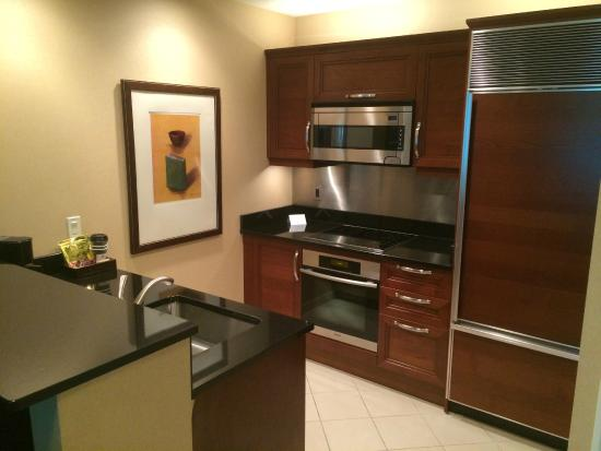 Signature at MGM Grand: Kitchen area