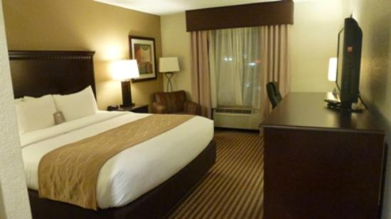 Comfort Inn & Suites: Third Floor King Room