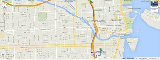 Aloft Miami Brickell: I-95 S