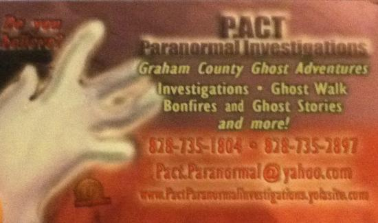 """""""Ghost Walk"""" Location - Picture of Graham County Ghost ..."""