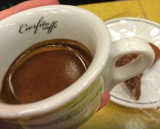 Gran Caffe Ciorfito: Caffè delizioso!!!!