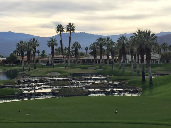 Palm and Valley Golf Courses at Desert Springs: Beautiful, but tough par 3.