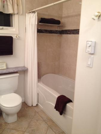 Ridgeview Gardens Bed and Breakfast: Luxurious bath tub. Pic does not do justice ;)