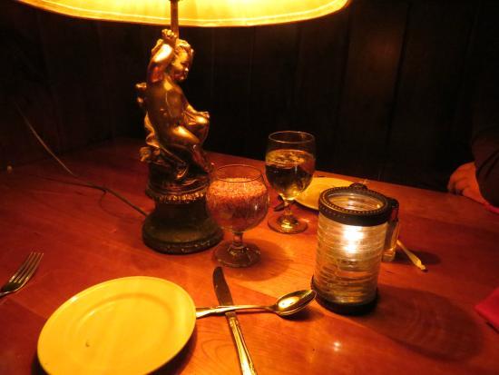 Brae Loch Inn : Dinner table