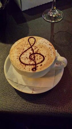 Clemenza's at Uptown: A nice cappuccino