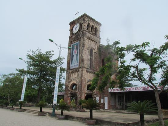The Shrine of Our Lady of La Vang: the old church