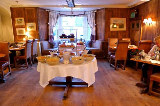The Hoste: Delightful Breakfast Room - Healthy Temptations!