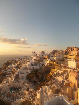 Sunset in Oia: Oia