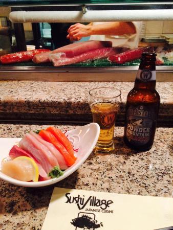 Sushi Village Japanese Cuisine: Assorted sashimi