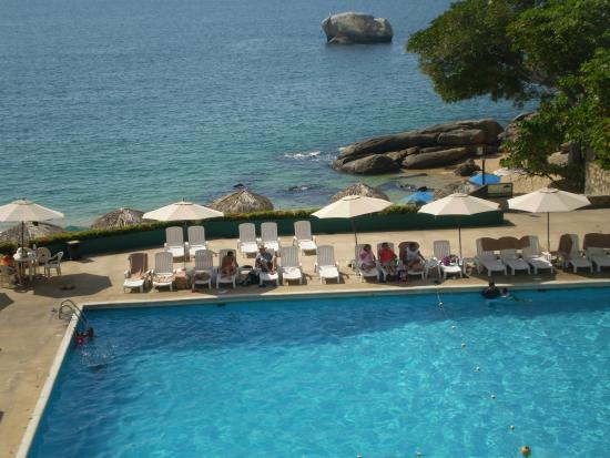 Hotel El Presidente Acapulco: Playa y Piscina