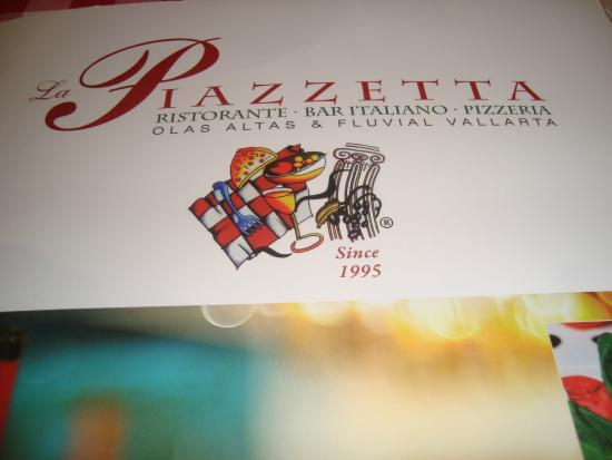 La Piazzetta: sign