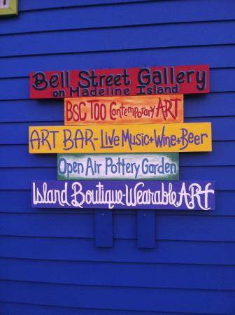 Bell Street Gallery on Madeline Island