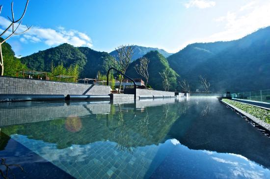 Taroko National Park, Xiulin: Outoodr Jacuzzi