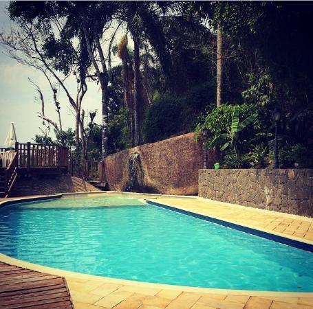 Hotel Coquille - Ubatuba: Essa piscina é demais... Vista linda!!!