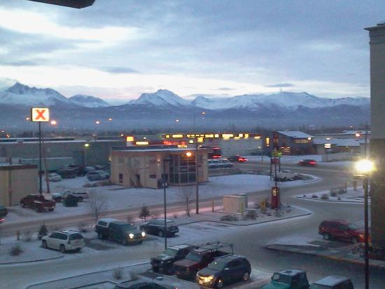 Fairfield Inn & Suites Anchorage Midtown: View from our room just before sunrise