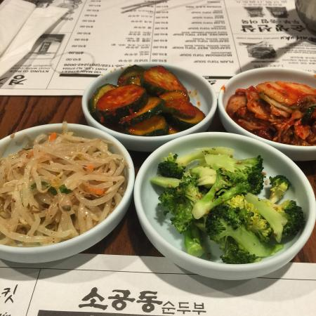 Banchan from So Kong Dong
